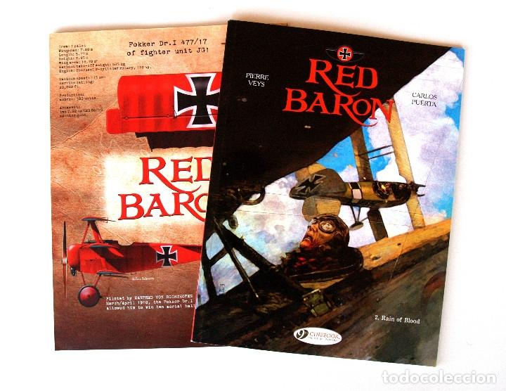Cómics: LA SERIE RED BARON por Carlos Puerta y Pierre Veys ● 3 vol. 48/48/64 pp (Inglés, Cinebook 2015) - Foto 3 - 182016483