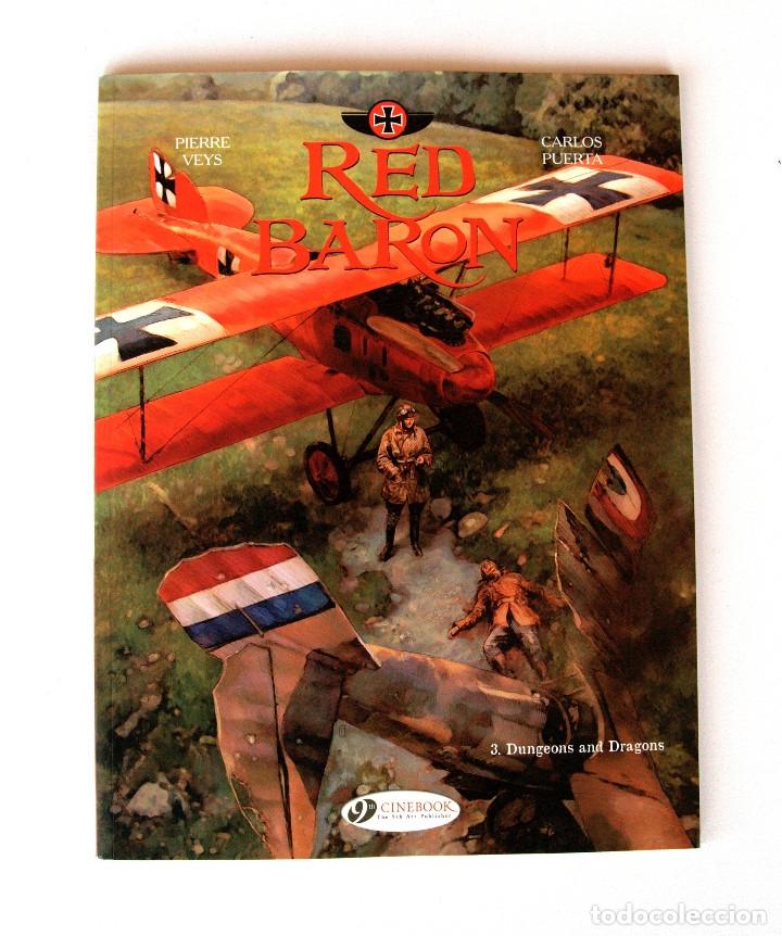 Cómics: LA SERIE RED BARON por Carlos Puerta y Pierre Veys ● 3 vol. 48/48/64 pp (Inglés, Cinebook 2015) - Foto 4 - 182016483