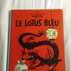 Cómics: TINTIN LE LOTUS BLEU CASTERMAN 1946 IMPRESO 1966 BÉLGICA. Lote 182748883