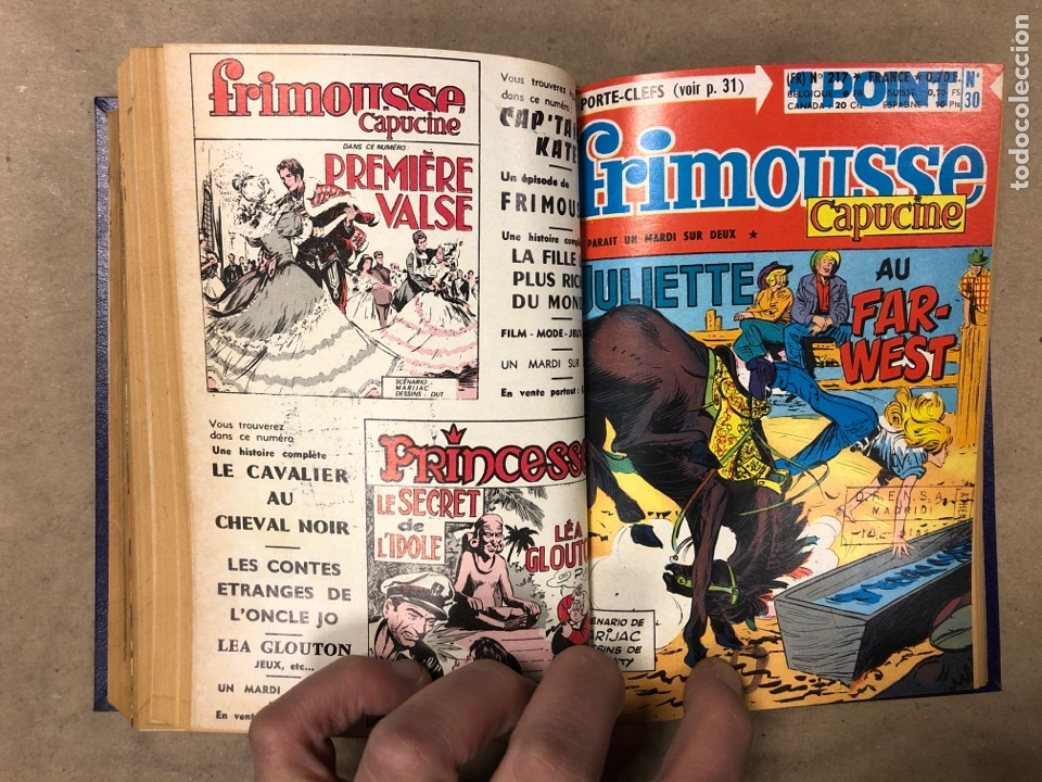 Cómics: LOTE 7 NOVELAS GRÁFICAS FRANCESAS DE LOS AÑOS 60 ENCUADERNADAS. - Foto 13 - 182788408