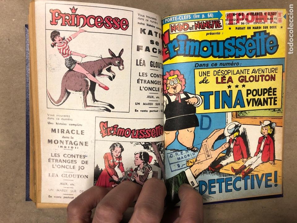 Cómics: LOTE 7 NOVELAS GRÁFICAS FRANCESAS DE LOS AÑOS 60 ENCUADERNADAS. - Foto 15 - 182788408