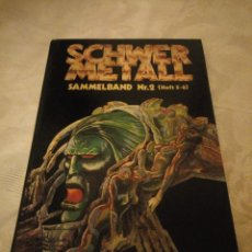 Cómics: SCHWERMETALL SAMMELBAND NR. 2 (HEFT 5-8). 1980,ALEMAN. Lote 183023563