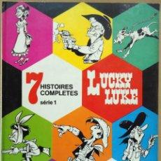Cómics: GOSCINNY / MORRIS - LUCKY LUKE. 7 HISTOIRES COMPLETES. SÉRIE 1. DARGAUD, 1974.. Lote 183383451