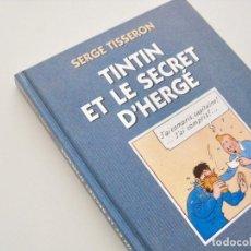 Cómics: TINTIN ET LE SECRET DE HERGÉ--SERGE TISSERON 1993-- HORS COLLECTION--NUEVO. Lote 184082698