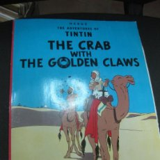 Cómics: THE ADVENTURES OF TINTIN. THE CRAB WITH THE GOLDEN CLAWS. AVANCE SU INGLES CON TINTIN. Nº 3 . Lote 184693305