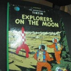 Cómics: THE ADVENTURES OF TINTIN. EXPLORERES ON THE MOON. HERGE. METHUEN CHILDREN BOOKS, 1983. Lote 184694141