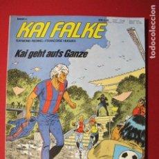 Cómics: KAI FALKE BAND 3 (ERIC CASTEL) VERSIÓN ALEMANA. Lote 186181516