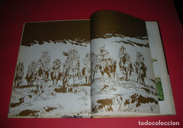 Cómics: FILM TEST dImpression ORIGINAL JIJÉ Jerry Spring Couverture / Portada Le GRAND CALUMET 17 ,ÚNICO - Foto 10 - 187300121