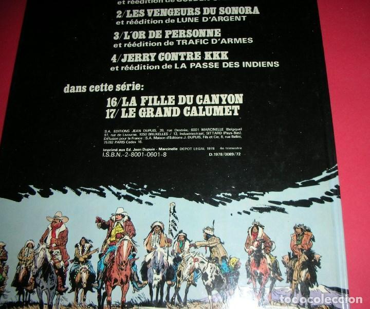 Cómics: FILM TEST dImpression ORIGINAL JIJÉ Jerry Spring Couverture / Portada Le GRAND CALUMET 17 ,ÚNICO - Foto 15 - 187300121