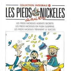Cómics: LES PIEDS NICKELES. INTEGRALE Nº 20. EN FRANCÉS.. Lote 187637460
