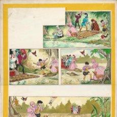 Cómics: PAGINA ORIGINAL TREASURE IPC (20-09-1969). AUTOR LUIS BERMEJO.. Lote 188488668