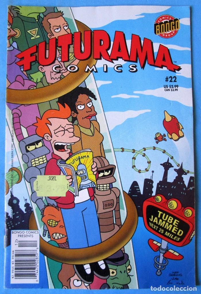 FUTURAMA COMICS Nº 22 - BONGO COMICS GROUP 2005 - EN INGLÉS (Tebeos y Comics - Comics Lengua Extranjera - Comics Europeos)
