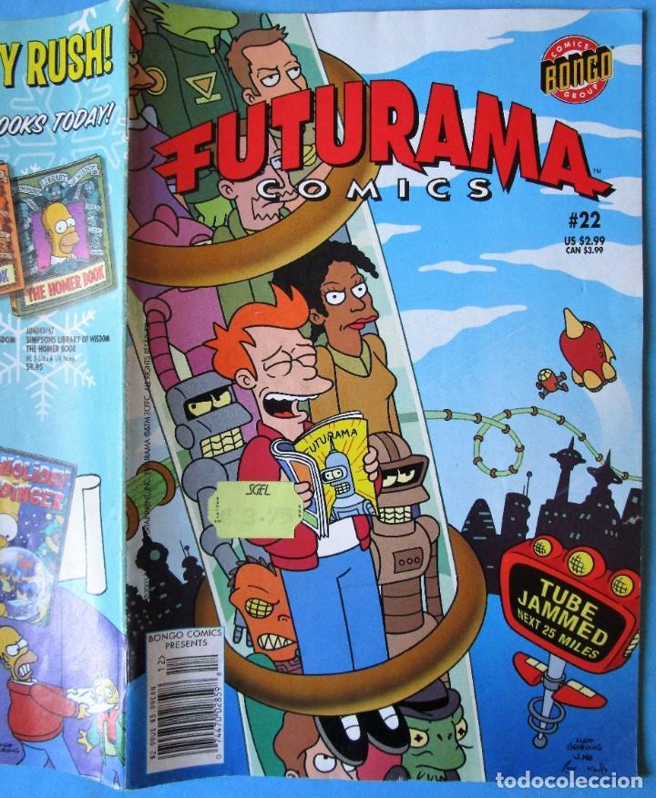 Cómics: FUTURAMA COMICS Nº 22 - BONGO COMICS GROUP 2005 - EN INGLÉS - Foto 2 - 188789811