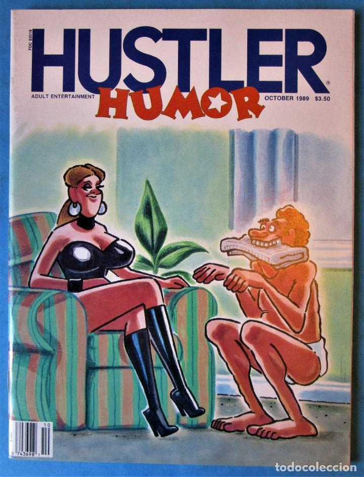 HUSTLER HUMOR.VOLUMEN 12 Nº 8.1989 - EN INGLÉS (Tebeos y Comics - Comics Lengua Extranjera - Comics Europeos)