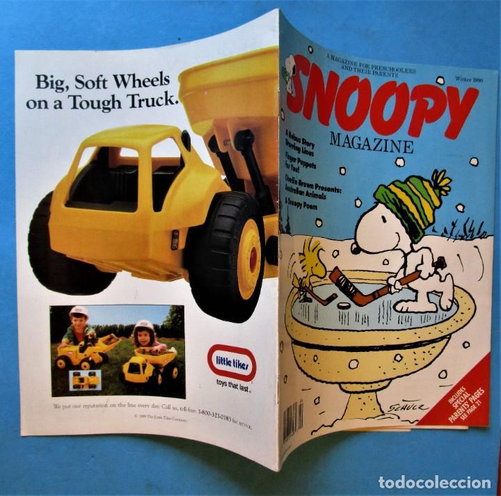 Cómics: SNOOPY MAGAZINE - WINTER 1990 - INCLUDES POSTER - EN INGLÉS - Foto 2 - 188793748