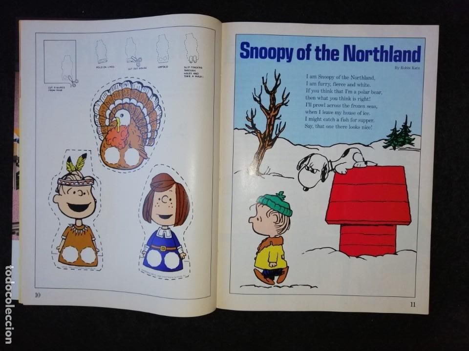 Cómics: SNOOPY MAGAZINE - WINTER 1990 - INCLUDES POSTER - EN INGLÉS - Foto 5 - 188793748