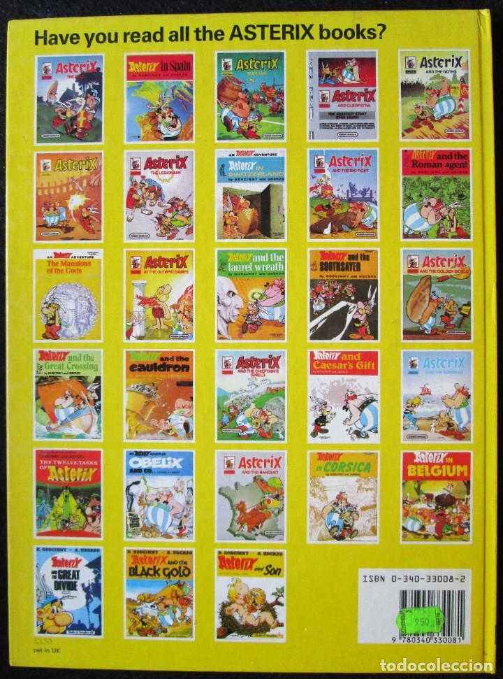 Cómics: ASTERIX AND SON - THIRD IMPRESSION - DARGAUD 1984 - TAPA DURA - EN INGLÉS BUEN ESTADO - Foto 3 - 188821722