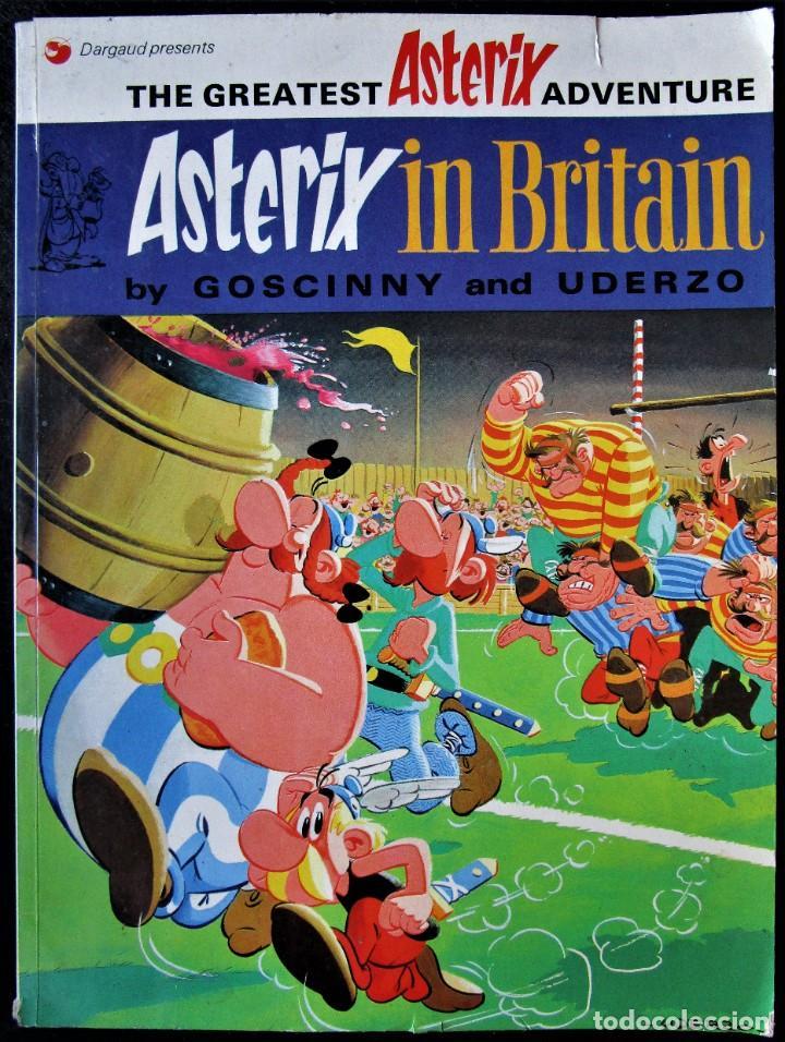 ASTERIX IN BRITAIN - DARGAUD 1973 - EN INGLÉS (Tebeos y Comics - Comics Lengua Extranjera - Comics Europeos)