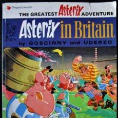 Cómics: ASTERIX IN BRITAIN - DARGAUD 1973 - EN INGLÉS. Lote 188823016