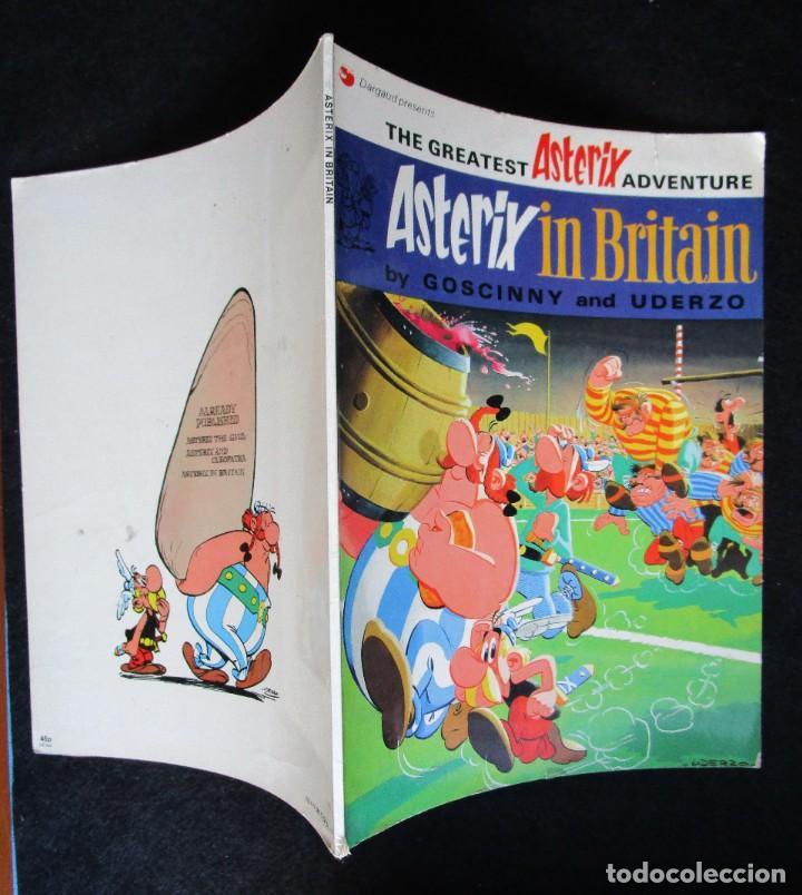 Cómics: ASTERIX IN BRITAIN - DARGAUD 1973 - EN INGLÉS - Foto 3 - 188823016