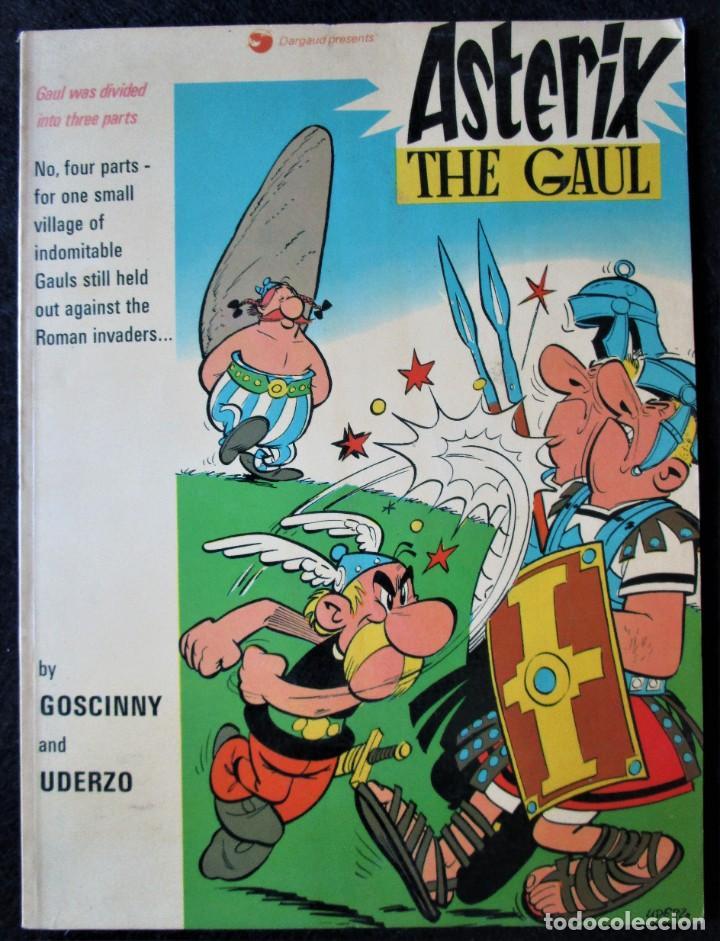 ASTERIX THE GAUL - DARGAUD 1973 - EN INGLÉS (Tebeos y Comics - Comics Lengua Extranjera - Comics Europeos)