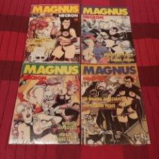 Cómics: MAGNUS NECRON NÚMEROS 1, 2, 3 Y 4. COLLANA ELDORADO. PRECINTADOS.. Lote 189443892