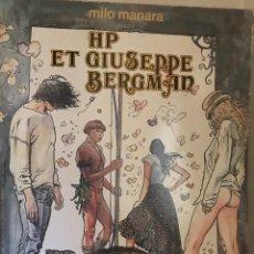 Cómics: HP ET GIUSEPPE BERGMAN MILO MANARA, EN FRANCÉS, 1980, 1ERA EDICIÓN. Lote 189570696
