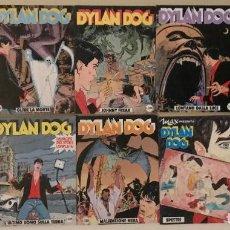 Cómics: LOTE DE 23 TOMOS DYLAN DOG+1 NUMERO FUERA DE SERIE+1 EXTRA GROUCHO, EN ITALIANO, 1989/94. Lote 189691671