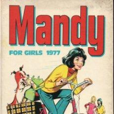 Cómics: MANDY FOR GIRLS 1977 (THOMSON & CO., LONDON) ALMANAQUE. Lote 189946100
