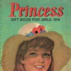 Cómics: PRINCESS GIFT BOOK FOR GIRLS 1974 (IPC MAGAZINES, LONDON). Lote 189946255