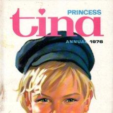 Cómics: PRINCESS TINA ANNUAL 1976 (IPC MAGAZINES, LONDON) ALMANAQUE. Lote 189946386