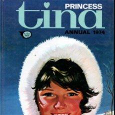 Cómics: PRINCESS TINA ANNUAL 1974 (IPC MAGAZINES, LONDON) ALMANAQUE. Lote 189946575