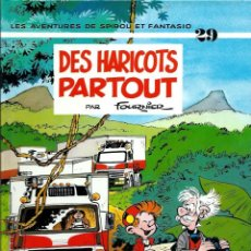 Cómics: SPIROU ET FANTASIO Nº 29 - DES HARICOTS PARTOUT - EN FRANCES - TAPA DURA - DUPUIS 1993 - COMO NUEVO. Lote 189946820