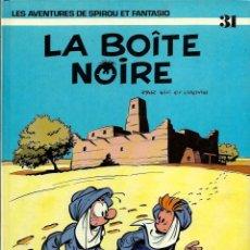 Cómics: SPIROU ET FANTASIO Nº 31 - LA BOITE NOIRE - EN FRANCES - TAPA DURA - DUPUIS 1990 - CORRECTO. Lote 189946895