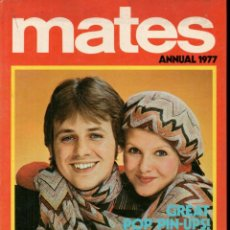 Cómics: MATES ANNUAL 1977 (IPC MAGAZINES, LONDON) ALMANAQUE. Lote 189947018