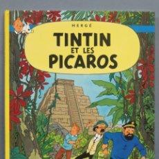 Cómics: 1976.- TINTIN ET LES PICAROS. CASTERMAN. Lote 191698111