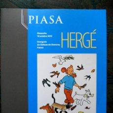 Cómics: TINTIN - SUBASTA - HERGÈ - PIASA - 10 OCTOBRE 2010. Lote 191812202