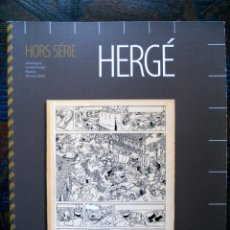 Cómics: TINTIN - SUBASTA - HERGÈ - HORS SÉRIE - 10 MAI 2009. Lote 191812657