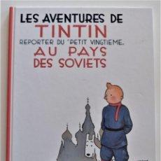 Cómics: LES AVENTURES DE TINTIN - AU PAYS DES SOVIETS - EDITORIAL CASTERMAN AÑO 1999 - MUY BUEN ESTADO. Lote 193943950