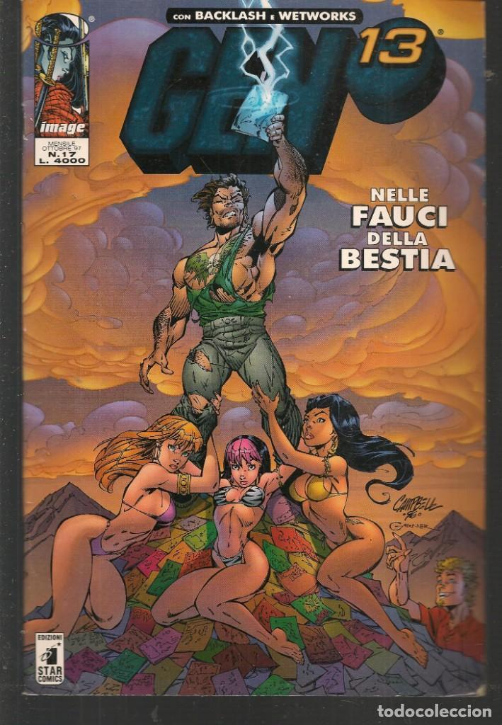 GEN 13. Nº 17. BACKLASH - WETWORKS. EN ITALIANO (ST/MG1) (Tebeos y Comics - Comics Lengua Extranjera - Comics Europeos)