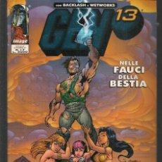 Cómics: GEN 13. Nº 17. BACKLASH - WETWORKS. EN ITALIANO (ST/MG1). Lote 194230292