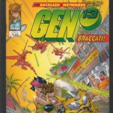 Cómics: GEN 13. Nº 22. BACKLASH - WETWORKS. EN ITALIANO (ST/MG1). Lote 194230516