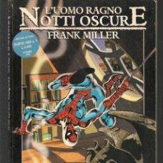 Cómics: L´UOMO RAGNO. NOTTI OSCURE. MARVEL ORO Nº 5. FRANK MILLER. EN ITALIANO (ST/MG1). Lote 194230747