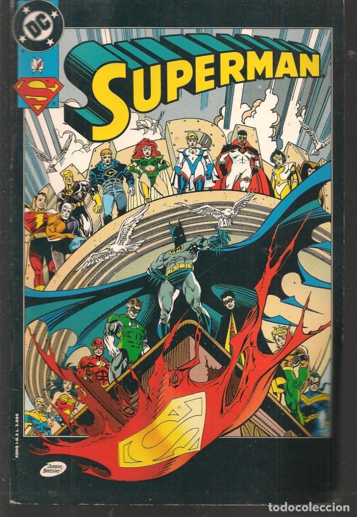 SUPERMAN. Nº 2. DC / EN ITALIANO (ST/MG1) (Tebeos y Comics - Comics Lengua Extranjera - Comics Europeos)