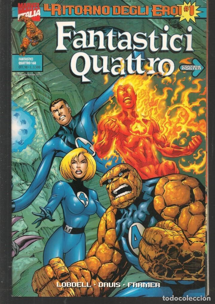 FANTASTICI QUATTRO. Nº 1. IL RITORNO DEGLI EROI. CON POSTER. MARVEL / EN ITALIANO (ST/MG1) (Tebeos y Comics - Comics Lengua Extranjera - Comics Europeos)