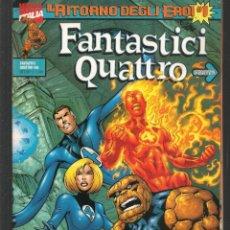 Cómics: FANTASTICI QUATTRO. Nº 1. IL RITORNO DEGLI EROI. CON POSTER. MARVEL / EN ITALIANO (ST/MG1). Lote 194231466