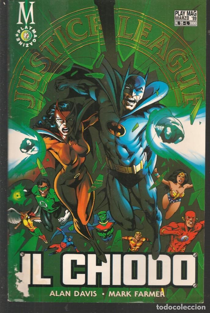 JUSTICE LEAGUE. Nº 35. PLAY MAG. / EN ITALIANO (ST/MG1). (Tebeos y Comics - Comics Lengua Extranjera - Comics Europeos)