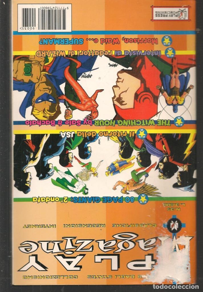 Cómics: JUSTICE LEAGUE. Nº 35. PLAY MAG. / EN ITALIANO (ST/MG1). - Foto 2 - 194232340