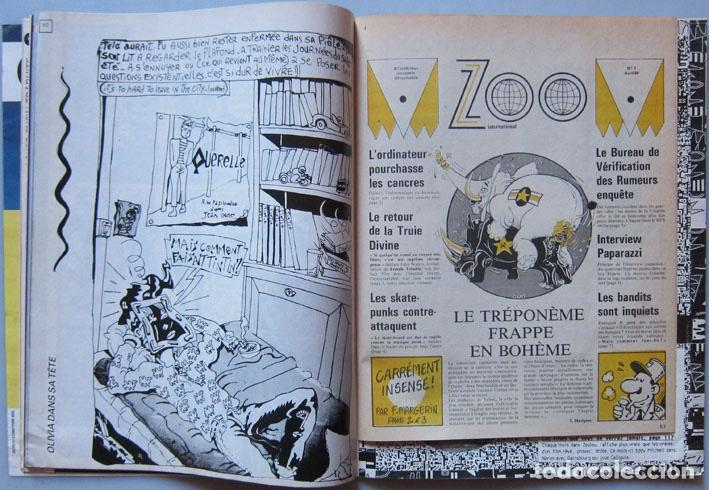 Cómics: Zoulou nº 1. Ceesepe, Margerin, Jano, Denis Sire, Charles Burns, Martí, Nazario… Francia 1984 - Foto 3 - 194276178