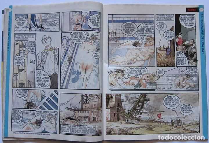 Cómics: Zoulou nº 1. Ceesepe, Margerin, Jano, Denis Sire, Charles Burns, Martí, Nazario… Francia 1984 - Foto 5 - 194276178